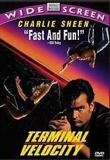 Brand New DVD Terminal Velocity Charlie Sheen Nastassja Kinski James Gandolfini