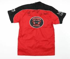 More details for peterborough panthers speedway team wear shirt autographed xl signed