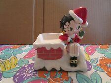 Betty Boop Christmas Collector Bin, Excellant Condition, Original Owner