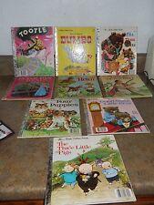 Vintage Golden Books - 18 Total - 1945-1987