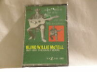 BLIND WILLIE McTELL Early Years 1927-1933 Yazoo SEALED cassette tape