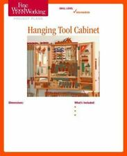 Fine Woodworking's Hanging Tool Cabinet Plan (2014, Print, Other)