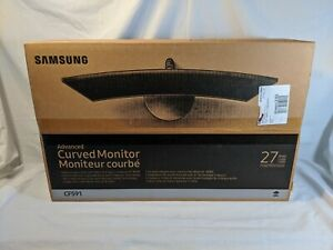 "NEW IN BOX Samsung 27"" LED Curved Computer Monitor CF591 Freesync Gaming 1800R"