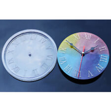 Cement Concrete Silicone Mold Clock Making Clay Plaster Mould Resin Casting