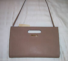 NWT Michael Kors TILDA XL Clutch Bag Saffiano Leather Dk Khaki 38S3XTDC4L