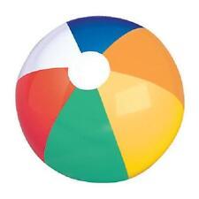 Ib-mul16 Beach Ball RINCO Set of 12 BULK Balls Classic Multi Colored 16 Uninflated 097138700254