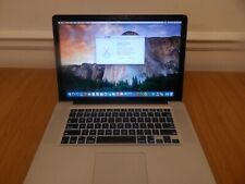 "Apple MacBook Pro 15-Inch ""Core 2 Duo"" 2.66  4GB 320 GB Mid 2009"