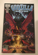 GODZILLA RULERS OF EARTH #12 DESTROYAH 1:10 RETAILER INCENTIVE VARIANT IDW NM