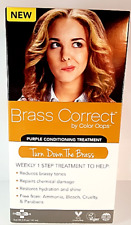 Brass CORRECT Color Oops Purple Brassy Conditioning Treatment Hair