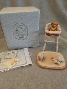 Cherished Teddies #611506 'A Baby Fills The Empty Space In Every Heart'-Babs-NIB