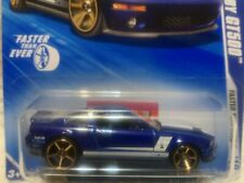 HOT WHEELS 2010 - FASTER THAN EVER - 07 FORD SHELBY GT500 - BLUE - KEYS TO SPEED