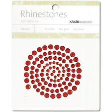 Kaisercraft - Rhinestones - Red - Self Adhesive - Gems