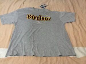 NFL Pittsburgh Steelers Ash Reebok Sideline T-Shirt Large