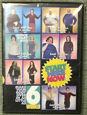 NEW SEALED Start Here Now 6 Week Body Makeover Weight Loss DVD Provida 2001