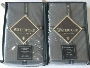 WATERFORD Alisanne EURO PIllow Sham SET OF 2 NEW