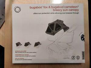 Bugaboo Fox/Cameleon3 breezy sun canopy, Waves- New In Box!