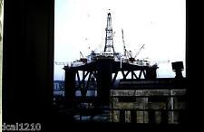 Original 3D Stereo Realist Slide #2 1972 OIL RIG