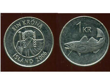 ISLANDE  1 krona  2006  ANM  ( bis )