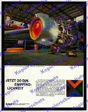 Kodak Lufthansa maintenance Halle Hambourg mécanicien moteur à réaction aviation 1964!!!
