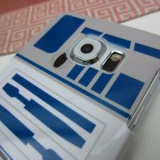 R2D2 Star Wars Robott Impact Rubber Skin Cover Case for Samsung Galaxy S6 Edge