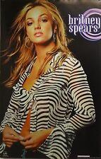 Britney Spears 23x35 Zebra Stripe Blouse Poster 2000