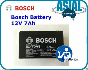 BOSCH Battery Security Alarm System NESS Hills 12V 7Ah Battery AGM Deep cycle
