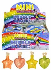 Mini Touchable Bubbles Pack of 12 -  Kids Birthday Party Bag Filler Toys Favours