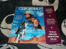 Geronimo an American Legend Widescreen Laserdisc LD Gene Hackman Free Ship $30