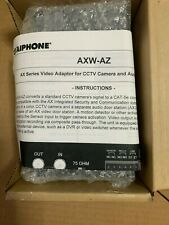 New Aiphone AXW-AZ Video Adaptor for CCTV Camera and Audio Door Station