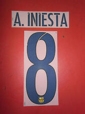 FLOCAGE OFFICIEL INIESTA FC BARCELONE AWAY 2015/2016