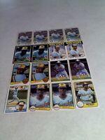 *****Ben Oglivie*****  Lot of 50 cards.....21 DIFFERENT / Baseball