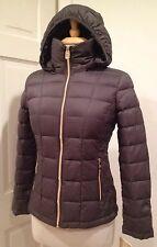 Michael Kors Júnior ligero abrigo Packable Down metalizado Pxs