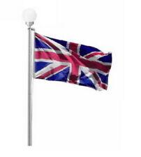 More details for flagpole solar globe ball light - for 20 ft flag pole - union jack - england