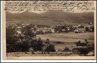 Erlbach im Vogtland Sachsen alte Ansichtskarte 1926 gelaufen Gesamtansicht