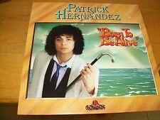 PATRICK HERNANDEZ BORN TO BE ALIVE  LP ACQUARIUS