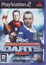 PDC WORLD CHAMPIONSHIP DARTS 2008 (2008) PS2 PAL ITA ORIGINALE RISIGILLATO*