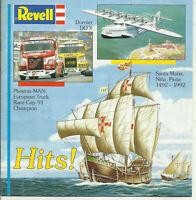 Katalog Revell Hits 1992 Bausatzmodelle Autos Trucks Flugzeuge Schiffe Dinos