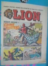 LION COMIC 17TH APRIL 1965 1960S A CLASSIC GROUNDBREAKING UK COMIC