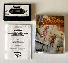 FIRE TRAP - 1986 - vintage game gioco Commodore 64 128