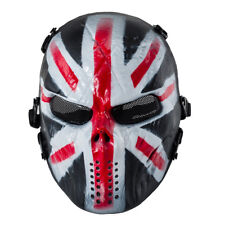 Airsoft Paintball Tactical Full Face Mask Combat Skull Game Protect God