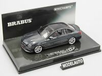 Minichamps 1:43 BRABUS 600 AUF BASIS MERCEDES AMG C 63 S  2015  BLACK