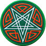 Satan 666 Pentagram Pentacle Wicca Hell Star Occult Goats Iron-On Patches #SA017