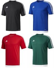 Men's New Adidas Estro Climalite T-Shirt Top - Fitness Gym Football Training