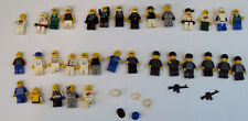 LEGO CITY POLICE MAN MEN OFFICER LOT BOAT SHIP 33 MINI FIGURES STATION