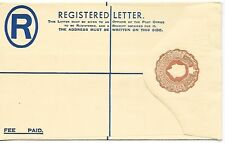 Gold Coast (until 1957) Registration Stamps