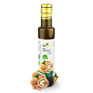 Certified Organic Cold Pressed Walnut Oil 250ml Biopurus