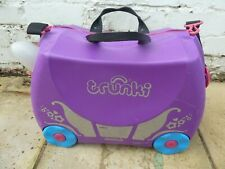 TRUNKI PRINCESS PEARL RIDE ON SUITECASE LUGGAGE CASE - FAST/FREE POSTING.