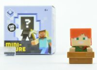 Minecraft Ice Collectible Figures Wave 5 1.5-Inch Figure - Alex In Boat