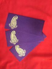 3 X Indian Tradition Shagun Envelope/Money Envelope (Purple) Free Shipping