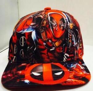 Deadpool Adjustable Canvas Baseball Cap Hip Hop Snapback Hat Fashion Gift